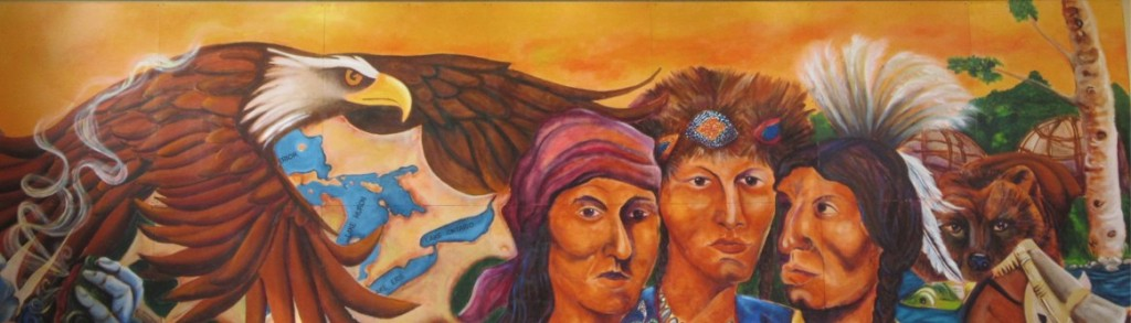 Forest County Potawatomi Cultural Center Mural