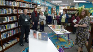 Culture Keepers tour the Library